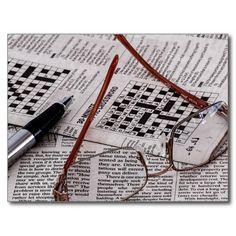Crossword Genius Postcards