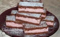 Tejfölös-pudingos sütemény recept fotóval