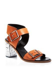 McQ Ankle Strap Sandals - Crush Two-Strap City | Bloomingdale's