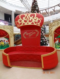 Santa Chair for photo ops