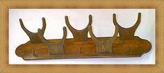 THE OCOTILLO Western Hat Rack Mod No 5HP on Handmade Artists Shop #HAFshop #handmade #woodwork
