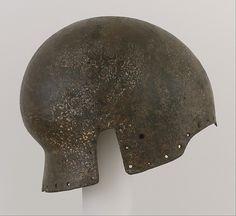Sallet Date: ca. 1450–1500 Geography: Aragon Culture: Spanish Medium: Steel Dimensions: H. 7 1/4 in. (18.4 cm); W. 6 3/4 in. (17.1 cm); D. 8 15/16 in. (22.7 cm); Wt. 4 lb. 8 oz. (2050 g)