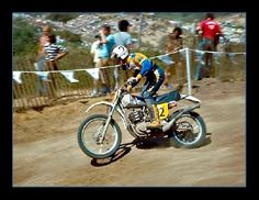 "The Great ""Iron Man"" Adolf Weil... Weil finished second to Håkan Andersson in the 1973 250cc World Championship, and finished in third place three times in the 500cc World Championship. He won 14 German motocross national championships. Weil won the 1973 Trans-AMA championship at the age of 34. He was known as the ""Iron Man"" of motocross because he competed for over 20 years in a physically demanding sport that is dominated by younger riders..."