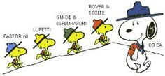 Image result for snoopy scout