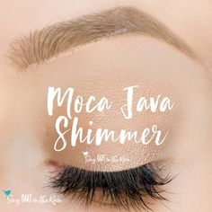 Moca Java Shimmer ShadowSense is a neutral light brown, shimmer, cream to powder eyeshadow color by SeneGence.  #mocajava #eyeshadow #shadowsense #senegence #shimmer