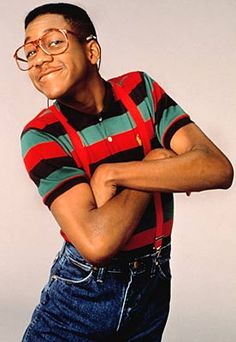 Steve Urkel, did I do that?? haha loved that show still watch re runs from time to time.