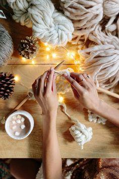 Knit Collage yarn ~ beautiful handspun bulky, chunky yarn. #uniqueyarn, #knitspiration, #chunkyknits, #handspun,