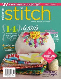 Stitch spring 2010 emag  couture 2010 interweave