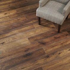 Walnut Wood Floors, Living Room Hardwood Floors, Walnut Hardwood Flooring, Hardwood Floor Colors, Engineered Hardwood Flooring, Farmhouse Ideas, Modern Farmhouse, Kitchen Reno, Kitchen Ideas