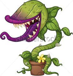 desenho planta carnivora - Pesquisa Google