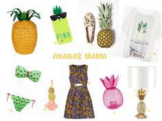 Toutes Fan D'Ananas: sélection shopping  http://initialsla.com/fr/fan-ananas-tendance-mode-fruit-tropical-ete-2014/