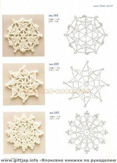 snow flake motif