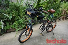 Portland Design Works Takeout Handlebar Basket Review | Techolo - Philippine Technology Outlook Blog