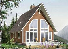 W1704 - Maison contemporaine, inspirations candinave, bon prix ...