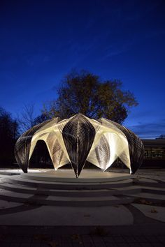 Research Pavilion 2012 by ICD/ITKE