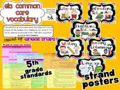 Ginger Snaps: SALE and more Common Core ELA - 5th grade