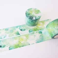 夏日不思議 紙膠帶 | 紙膠帶 | Fungus Girl 菌菌 | Creema 手作・設計購物網站
