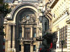 cec palace bucharest romania architecture beautiful eastern european cities