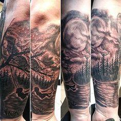 101 Cool Tattoos For Men: Best Tattoo Ideas + Designs For Guys Tattoos For Guys Badass, Unique Tattoos For Men, Tribal Tattoos For Men, Arm Sleeve Tattoos, Leg Tattoo Men, Leg Tattoos, Taurus Tattoos, Queen Tattoo, Mens Shoulder Tattoo