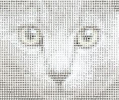 Typorganism presents the ASCII-O-Matic, allowing you to quickly create your own ASCII art. Emoji Texts, Ascii Art, Letter T, Geek Art, Cute Funny Animals, Geek Stuff, Parametric Design, Kaito, Typewriter