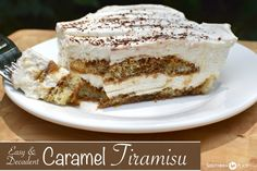 Easy & Decadent Caramel Tiramisu (and a simpler life inside my kitchen) ~ http://www.southernplate.com