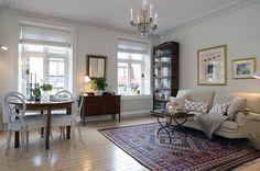 Urban Country Style Interiors in Swedish Apartment | Interior Design Files