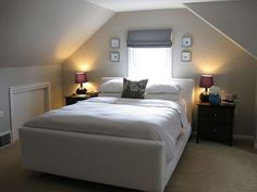 attic bedroom by pullpusher, via Flickr