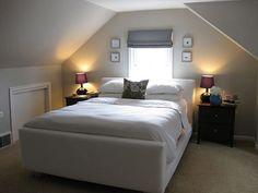 attic bedroom by pullpusher, via Flickr