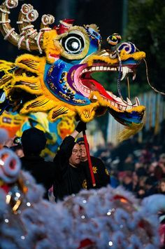 Dragon Head by Frozen Canuck, via Flickr  2012 Chinese New Year in San Francisco (Feb 11, 2012)