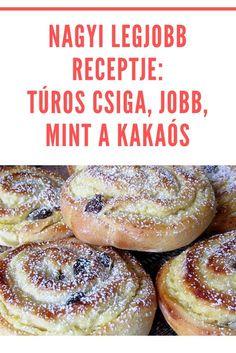 Hungarian Recipes, Food Humor, Winter Food, Cakes And More, Diy Food, Bread Baking, No Bake Cake, Soul Food, Food Hacks