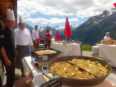 potatoes on top of the mountain @ stock resort, zillertal, tirol, austria