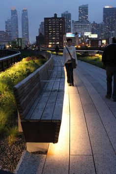 The Chelsea Highline: A must-see any time of year.