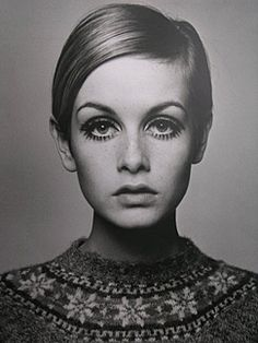 A timeless Fashion Icon. Twiggy. ( HAIR.MAKE-UP. EYES.BROWS!. LIPS. FACIAL EXPRESSION.CLOTHES I FREAKIN LOVE TWIGGY!!!