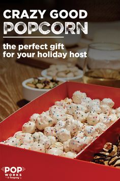 Looking for something to amp up your holiday celebrations? With POP WORKS & COMPANY creative popcorn flavors, you can add flavor to any occasion. It is the perfect gift for your holiday host, with your choice of 3 flavors including Birthday Cake, Cookies & Cream, and Salted Caramel & Fudge.Pick your favorite flavor or add some variety by trying them all! POP WORKS & CO boxes are also an easy alternative to the #pinterestfail, or Game Nights. Get it for the Holidays, shipped right to your…