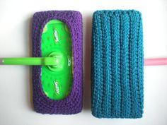 Reusable swiffer pads