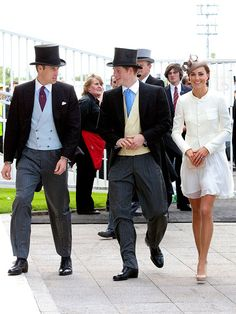 OFF TO THE RACES  In their first public outing as newlyweds, Duchess Kate and Prince William join Prince Harry at the prestigious Epsom Derby on June 4 to cheer on Queen Elizabeth's thoroughbred.