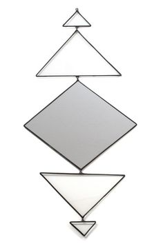 Totem Mirror 2. I love this styled next to a whole bunch of picture frames on a statement wall!  www.mooreaseal.com