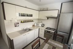 Poradca: Jozef Bajko - kuchyňa Nela Kitchen Cabinets, Home Decor, Decoration Home, Room Decor, Cabinets, Home Interior Design, Dressers, Home Decoration, Kitchen Cupboards