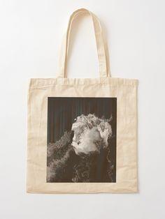 """The Life Fraction No.03"" Cotton Tote Bag, print design by Asmo Turunen. #design #totebag #shoppingbag #kestokassi #kangaskassi #atcreativevisuals"