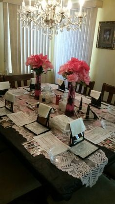 My beautiful skin care class set-up! This can be at YOUR dining room table. Contact me today. 562-866-6235 or www.marykay.com/sharnetterb