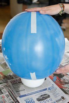 DIY Pinata- How To Make Cinco De Mayo Pinatas Paper Mache Pinata, Paper Mache Diy, Balloon Pinata, Balloons, Ballon Diy, Homemade Pinata, Easy Crafts, Crafts For Kids, Preschool Crafts