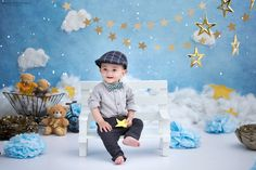 Ideas Children Photography Baby Photo Shoot For 2019 Newborn Baby Photos, Baby Boy Photos, Newborn Baby Photography, Cute Kids Photography, Toddler Boy Photography, Photography Ideas, Boy Photo Shoot, Kid Photo Shoots, Boy Birthday Pictures