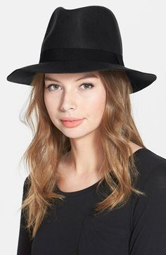 David & Young Felt Fedora (Online Only) available at #Nordstrom