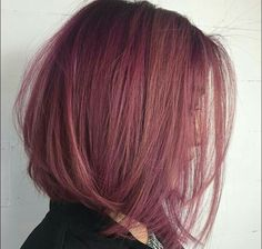 How-To: Dusty Violet Rose Violet Things violet hair color Dusty Pink Hair, Pastel Purple Hair, Violet Hair Colors, Hair Color Pink, Cool Hair Color, Dark Pink Hair, Rose Pink Hair, White Hair, Dusty Rose Hair Color