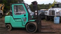 "If you're living in Greensboro, NC and looking #forklift for your industrial company, then Used 2005 #Mitsubishi FD40 Forklift available for sale by Levan Equipment in Greensboro, NC, USA. This Mitsubishi fd40 forklift looks good condition and available with many features as 8.25X15 front tires, 7.00x12 rear tires, side shift, 2 stage mast shipping dimensions: 10'6"" long, 8' wide, 7'6"" tall. http://www.heavy-machinerytrader.com/used-machinery/2005/forklift/mitsubishi/fd40/3822/"