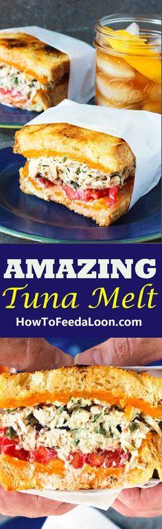 Amazing Tuna Melt Sandwich Recipe