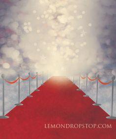 Red Carpet Backdrop 5x7