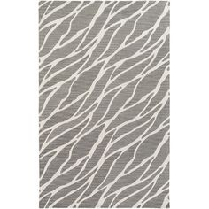 Found it at Wayfair - Arise Willa Hand-Tufted Gray/Ivory Area Rug