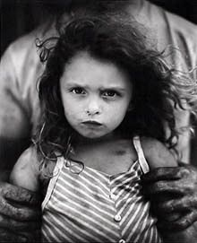 "'Holding Virginia' by Sally Mann... the book ""Immediate Family"" is a haunting classic. Here's a fully clothed kid, because... well, this is Pinterest. :)"