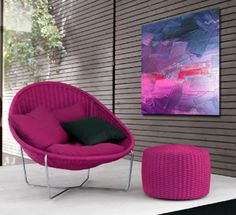 """Coming from the Latin word, Sonata translates """"to sound."""" This painting is a visual score and moves in a similar fashion to the jazz music that was playing as I painted. This original, one of a kind painting would make a beautiful addition to your home or business. MEMBER - Linnea Heide"""